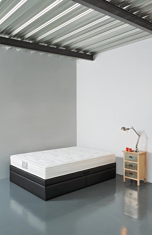 sommier coffre evo urban confort nice. Black Bedroom Furniture Sets. Home Design Ideas