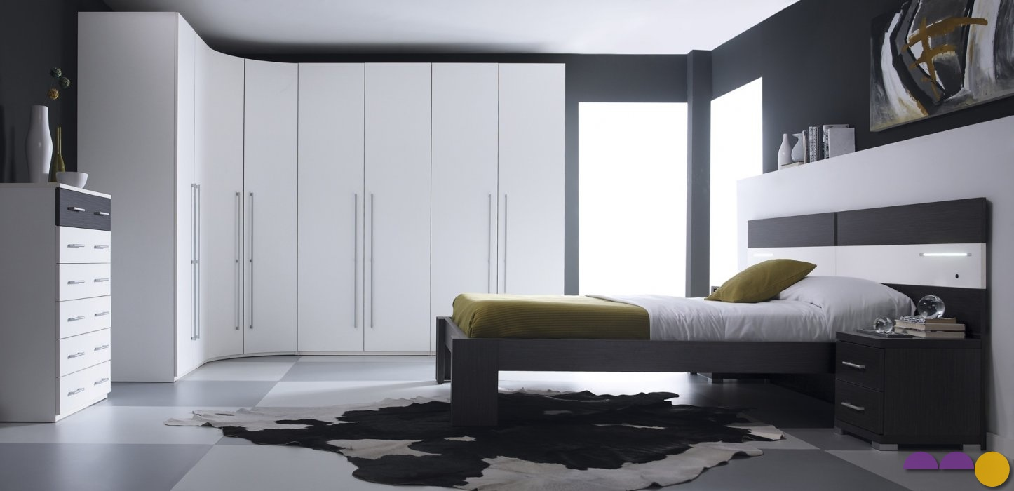 chambre adulte lit armoire urban confort nice. Black Bedroom Furniture Sets. Home Design Ideas