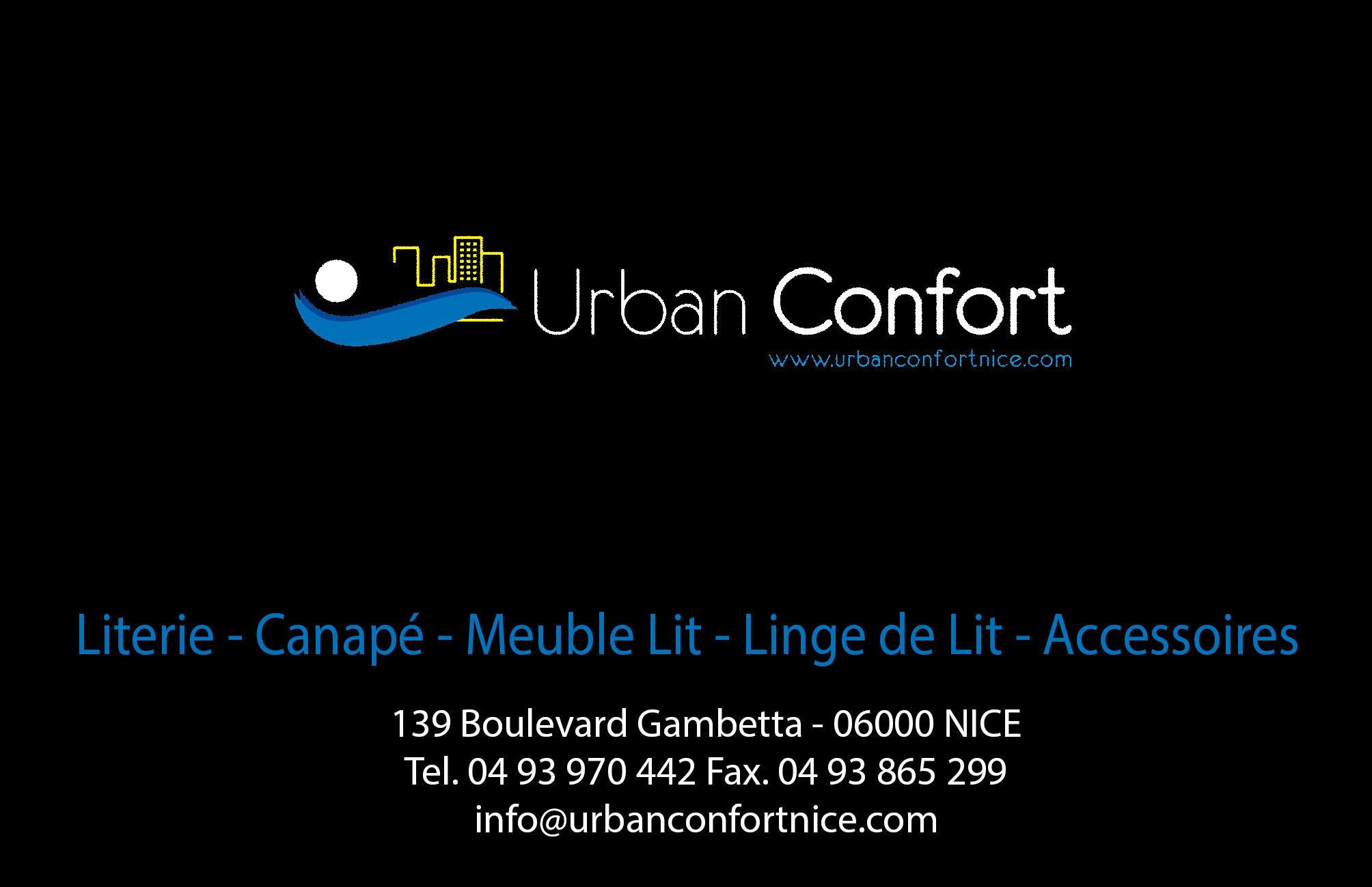 fournisseur literie d corateur int rieur urban confort nice 06. Black Bedroom Furniture Sets. Home Design Ideas